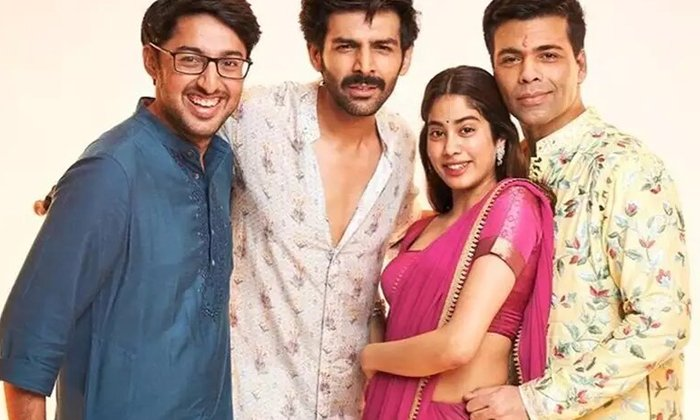 Kartik Aaryan Removed From 'Dostana' Sequel-Latest News English-Telugu Tollywood Photo Image-TeluguStop.com
