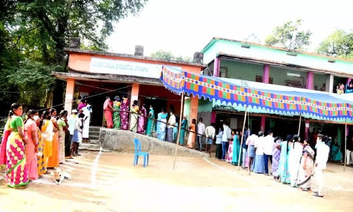 Huge Security Forces Were Deployed At Maoist-affected Polling Stations In AP-Latest News English-Telugu Tollywood Photo Image-TeluguStop.com