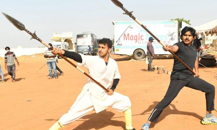 Telugu Hari Hara Veeramallu, Pawan Kalyan, Pawan Kalyan Hari Hara Veera Mallu Movie Shooting Update, Pawan Kalyan Movie News, Telugu Film News-Movie-English