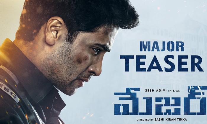 Teaser Talk: 'Major' Shows Adivi Sesh At His Best-Latest News English-Telugu Tollywood Photo Image-TeluguStop.com