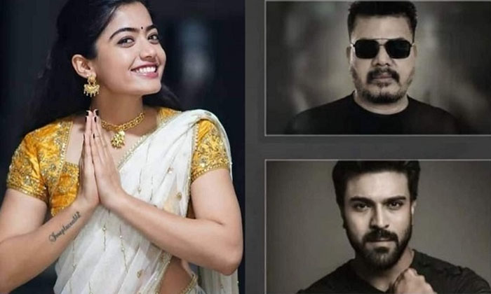 Ram Charan To Romance A Lady Journalist-TeluguStop.com