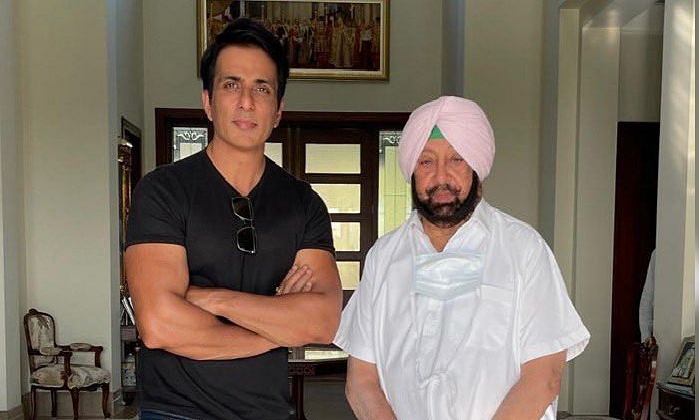 Punjab Government Awarded A Rare Tribute To Actor Sonu Sood -Latest News English-Telugu Tollywood Photo Image-TeluguStop.com