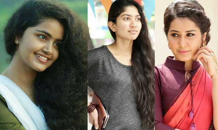 Tollywood Heroines And Their First Movie Chance-TeluguStop.com