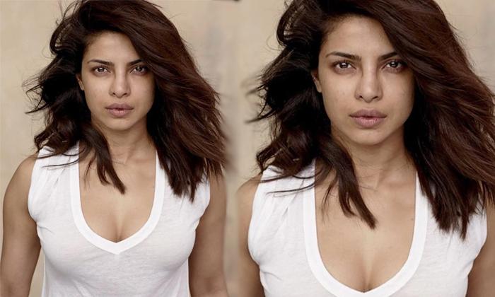 Priyanka Chopra Make Up Less Photo Goes Viral In Social Media-మేకప్ లేకుండా ప్రియాంక చోప్రా.. అవాక్కైన నెటిజన్లు..-Latest News - Telugu-Telugu Tollywood Photo Image-TeluguStop.com