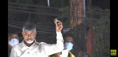 Alleging Stone Pelting, Naidu Calls Andhra Govt rowdy Kingdom'-General-English-Telugu Tollywood Photo Image-TeluguStop.com