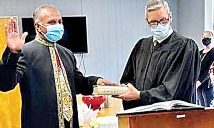 Ap Nri Samudrala Sudheer Elected Mayor In Us-అమెరికాలో మేయర్ గా చిత్తూరు వాసి…-Latest News - Telugu-Telugu Tollywood Photo Image-TeluguStop.com