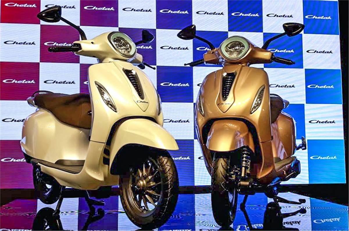 Bajaj Chetak Electric Scooter Super Bookings-అదిరిపోయిన బజాజ్ చేతక్ బుకింగ్స్..-General-Telugu-Telugu Tollywood Photo Image-TeluguStop.com