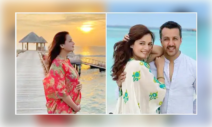 Dia Mirza Clarification Over Her Pregnancy Getting Married-TeluguStop.com