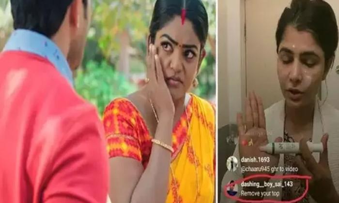 Singer Chimayi Sripada Strong Counters To Netizens-లైవ్లో చిన్మయి డ్రెస్ విప్పమన్న నెటిజన్.. ఆమె ఏమందంటే..-Latest News - Telugu-Telugu Tollywood Photo Image-TeluguStop.com