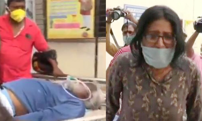 Corona Patient Died During Jharkhand State Health Minister Banna Das Gupta Inspection-రాష్ట్ర వైద్యశాఖ మంత్రి ముందే ఓ నిండు ప్రాణం బలి.. ఇది మనదేశ దౌర్భాగ్యం.. -Breaking/Featured News Slide-Telugu Tollywood Photo Image-TeluguStop.com