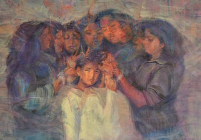 First Indian Artist, Sonal Relekar-Ramnath's Sisterhood' Heads For The Moon As Part Of The Peregrine Collection-Latest News English-Telugu Tollywood Photo Image-TeluguStop.com