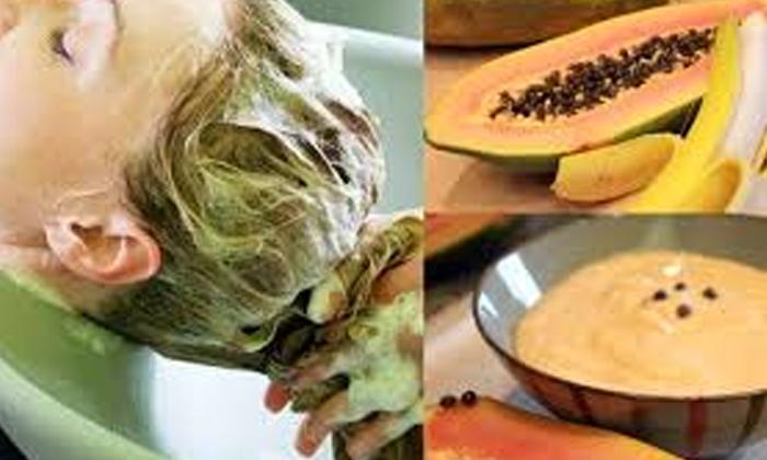 Fruit Packs For Brittle Hair-చిట్లిపోయిన జుట్టును ఈ ఫ్రూట్ ప్యాకులతో నివారించుకోండిలా-Latest News - Telugu-Telugu Tollywood Photo Image-TeluguStop.com