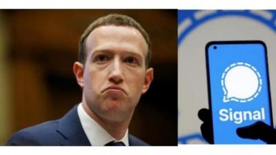 Leaked Facebook Data Reveals That Zukerberg Uses Signal-Latest News English-Telugu Tollywood Photo Image-TeluguStop.com