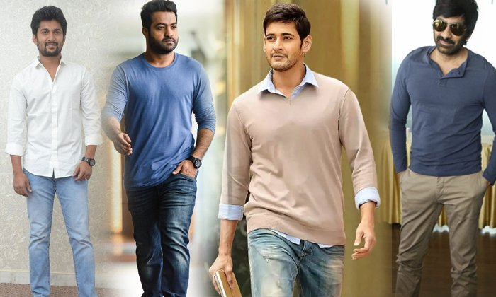 Tollywood Heros Who Are Getting Continuous Hits-TeluguStop.com