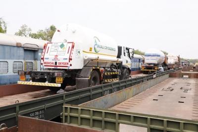 More Oxygen Express Trains On Way To Haryana, Mp, Up, Telangana-TeluguStop.com