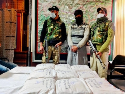 Pak Sponsored Narco-terror Module Busted In Kashmir-Crime News English-Telugu Tollywood Photo Image-TeluguStop.com