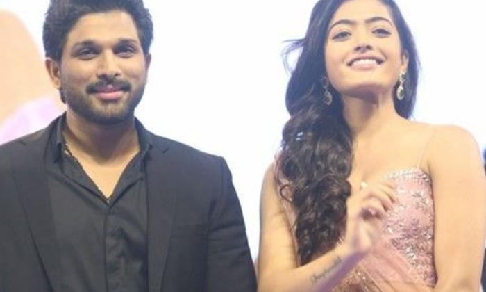 Rashmika Mandanna Wants Gift From Allu Arjun-అల్లు అర్జున్ కు వార్నింగ్ ఇచ్చిన రష్మిక.. ఎందుకో తెలుసా-Latest News - Telugu-Telugu Tollywood Photo Image-TeluguStop.com