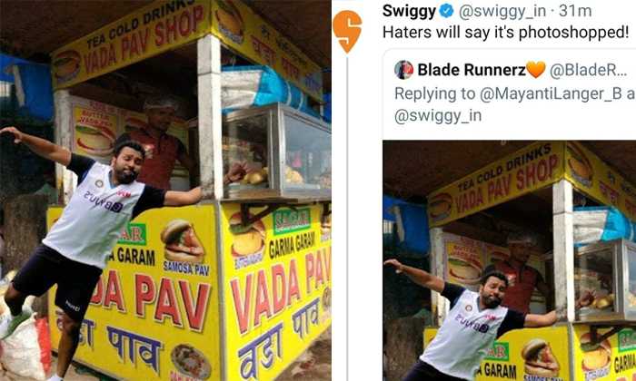 Rohit Sharma Fans Demanding To Boycott Swiggy-స్విగ్గీని నిషేధించాలంటున్న హిట్ మ్యాన్ ఫ్యాన్స్.. ఎందుకంటే..-General-Telugu-Telugu Tollywood Photo Image-TeluguStop.com