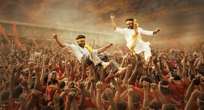 RRR' Makers Launch New Poster On Ugadi-Bollywood News-Telugu Tollywood Photo Image-TeluguStop.com