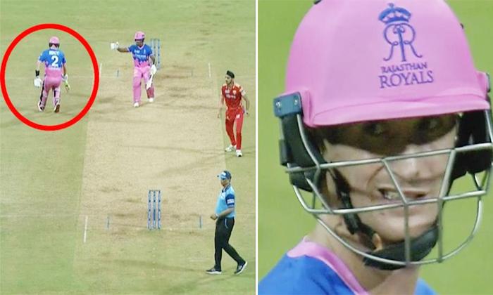 Sanju Samson Comments On Last Run Rejected Vs Delhi Capitals Match-ఆ సింగిల్ విషయంలో సంచలన కామెంట్స్ చేసిన శాంసన్..-Latest News - Telugu-Telugu Tollywood Photo Image-TeluguStop.com