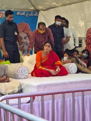 Sharmila Undertakes Fast To Demand Jobs For Telangana Youth-General-English-Telugu Tollywood Photo Image-TeluguStop.com