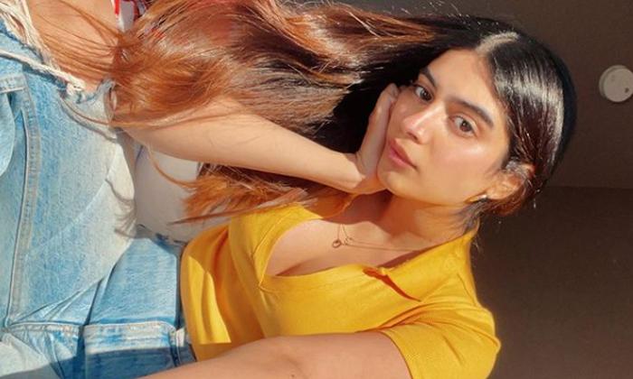 Kushi Kapoor Latest Stunning Pose-అక్కతో పోటీ పడుతున్న చెల్లి.. ఎవరో తెలుసా-Latest News - Telugu-Telugu Tollywood Photo Image-TeluguStop.com