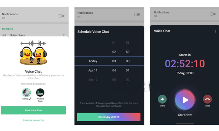 Telegram App With More Exciting New Features Of Voice Chat Experience-మరికొన్ని సరికొత్త ఫీచర్స్ తో టెలిగ్రామ్ యాప్…-General-Telugu-Telugu Tollywood Photo Image-TeluguStop.com