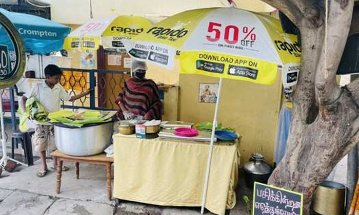 Viral Are You Kidding However Come Here And Fill Your Stomach With Biryani For Free-వైరల్: ఆకలేస్తుందా.. అయితే, వచ్చి ఇక్కడ ఉచితంగా బిర్యానీతో కడుపు నింపుకోండి..-General-Telugu-Telugu Tollywood Photo Image-TeluguStop.com