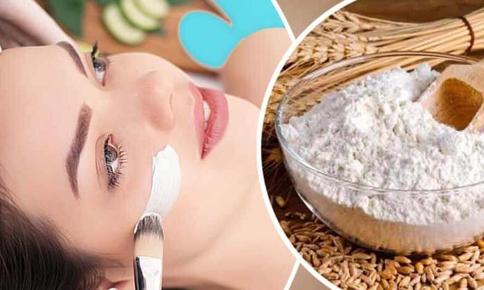 Wheat Flour Oily Skin Latest News Beauty Beauty Tips-TeluguStop.com