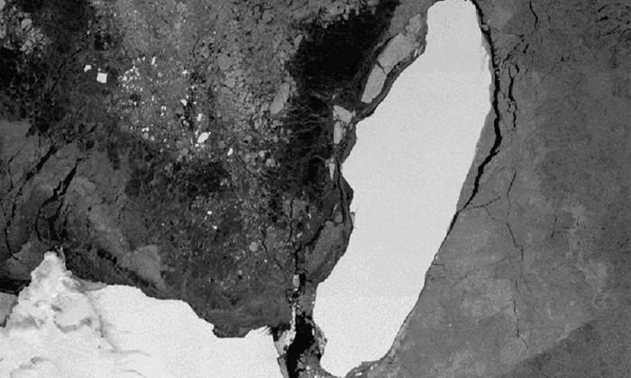 Worlds Largest Giant Ice Berg A 68 Melts Away-ప్రపంచంలోనే అతిపెద్ద మంచుకొండ ఇక లేనట్టేనా..-General-Telugu-Telugu Tollywood Photo Image-TeluguStop.com