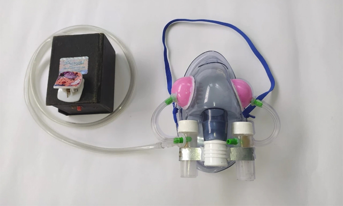 17 Years Girl Found Hi Tech Mask To Kill Corona Virus-TeluguStop.com