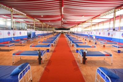 300-bed Covid Isolation Centre Comes Up In Hyderabad's Calvary Temple-General-English-Telugu Tollywood Photo Image-TeluguStop.com