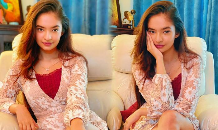 Anushka Sen Captivating Clicks Are Winning The Internet-telugu Actress Hot Photos Anushka Sen Captivating Clicks Are Win High Resolution Photo