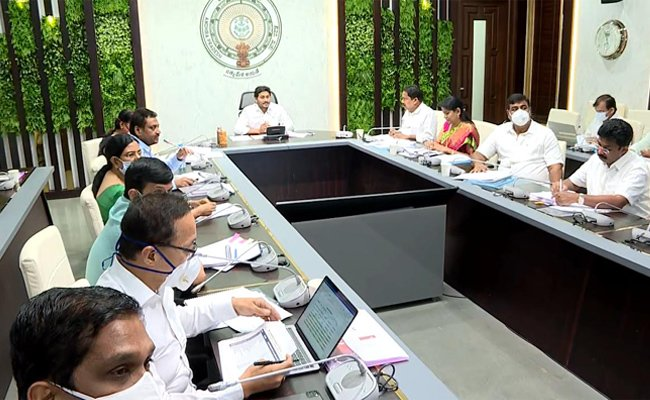 Ap Cabinet Highlight Decisions-ముగిసిన ఏపీ కేబినెట్ భేటీ సంచలన నిర్ణయాలు తీసుకున్న మంత్రిమండలి..-Political-Telugu Tollywood Photo Image-TeluguStop.com