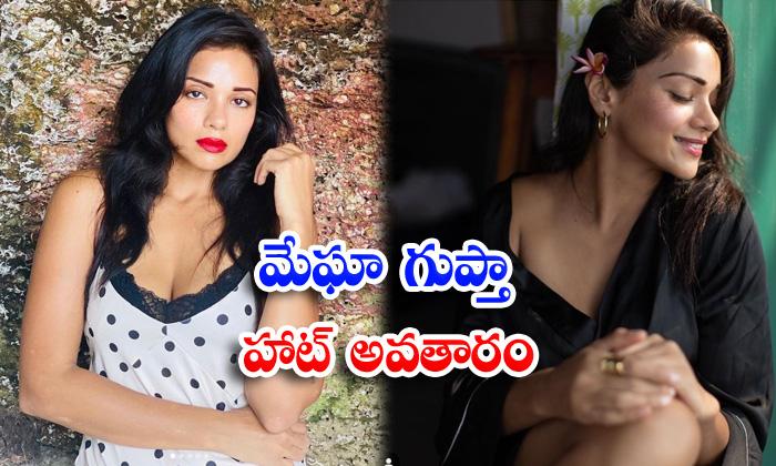 Bollywood stunning beauty megha gupta romantic clicks-మేఘా గుప్తా హాట్ అవతారం