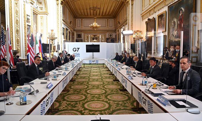 Telugu Covid Positive, Covid Vaccine, Foreign Ministers, G7 Summit, Indian Delegates, Indian Delegates Test Positive At Britain Hosts G7 Summit Foreign Ministers Meet. Britain-Telugu NRI