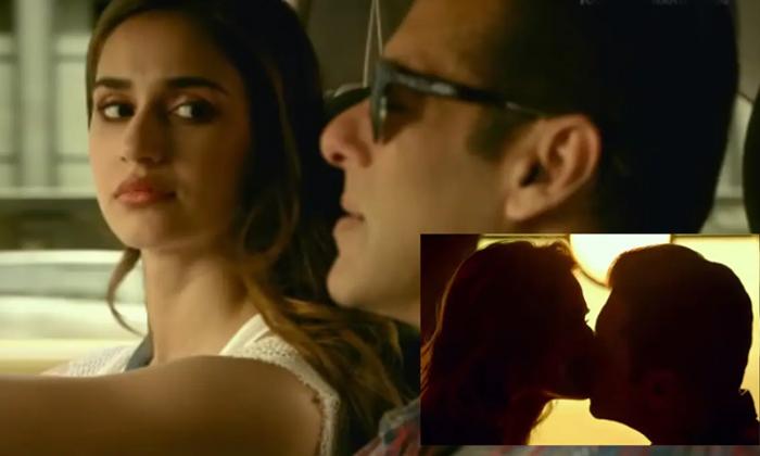 Telugu Disha Patani, Lip Lock, Lip Lock Scene, Not Kissed, Radhe Movie, Salman Khan, Slaman Lip Lock With Disha Patani, Star Hero Salman Khan Clarity About Lip Lock Scene-Movie