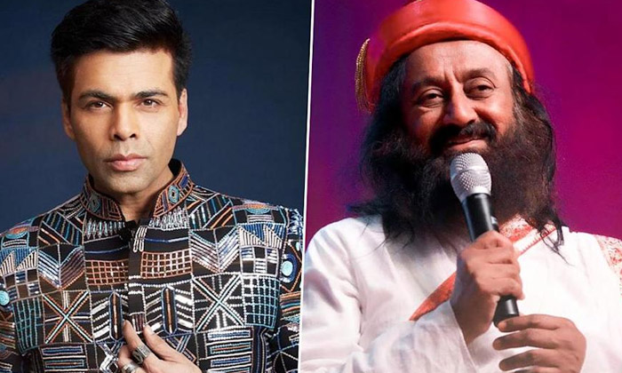 Karan Johar Announces Film On Sri Sri Ravi Shankar Biopic-TeluguStop.com