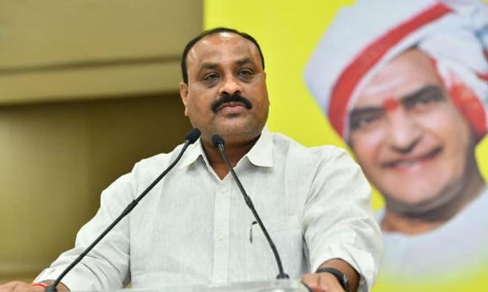 Ap Tdp Leader Atchennaidu Fires On Ap Cm Ys Jagan-TeluguStop.com