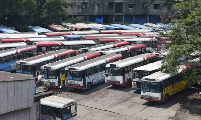 Telangana Rtc Is Incurring In Losses!-TeluguStop.com