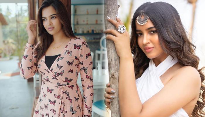 Tollywood Glamorous Beauty Pujita Ponnada Stunning Clicks-telugu Actress Hot Photos Tollywood Glamorous Beauty Pujita Po High Resolution Photo
