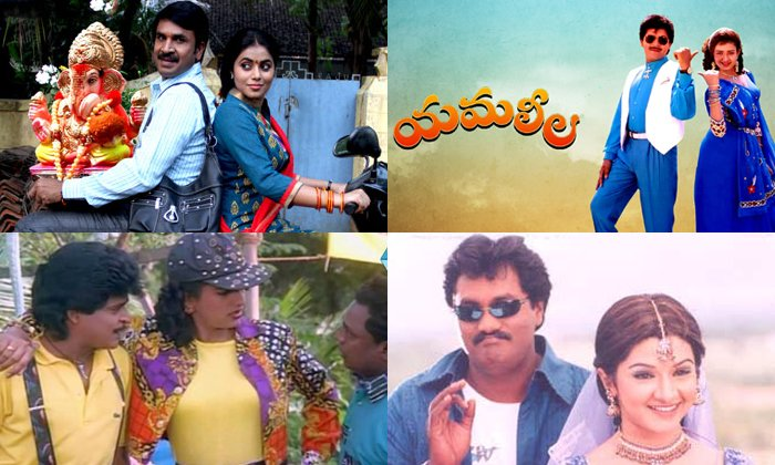 Tollywood Heroines Who Acted With Comedians-TeluguStop.com