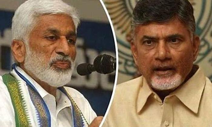 Vijayasaireddy Made Viral Comments On Chandrababu-TeluguStop.com