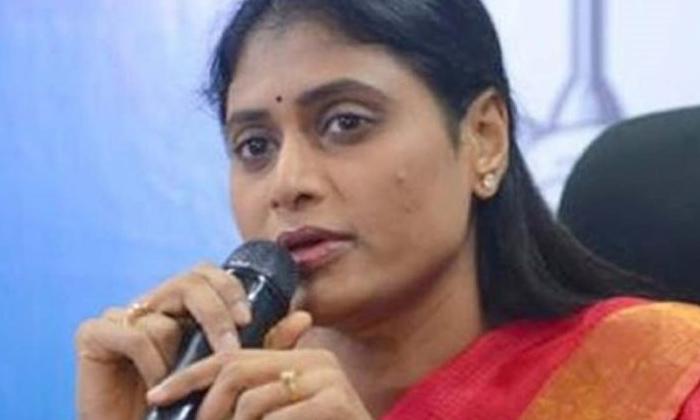 Ys Sharmila Who Slammed Kcr For Replacing Contract-TeluguStop.com