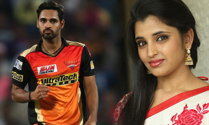 What Is The Relationship Of Cricketer Bhubaneswar To Anchor Shyama-TeluguStop.com