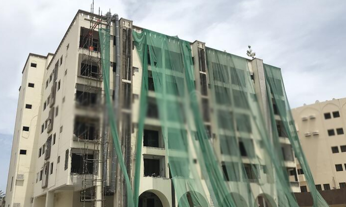 Why Use Green Cloth While Constructing A New Building-TeluguStop.com