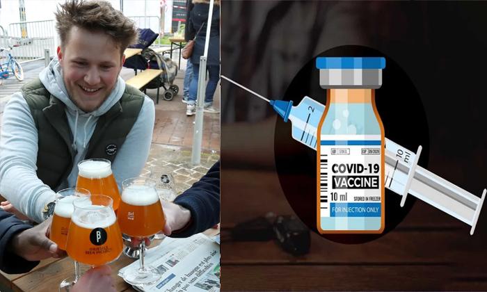 Coronavirus Vaccine With Beer Free In America-అక్కడ కరోనా టీకా వేయించుకుంటే బీర్ ఫ్రీగా ఇస్తారట….-General-Telugu-Telugu Tollywood Photo Image-TeluguStop.com