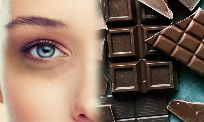 Telugu Beauty, Beauty Tips, Benefits Of Dark Chocolate, Dark Chocolate, Dark Circles, Latest News, Reduce Dark Circles, Skin Care-Telugu Health - తెలుగు హెల్త్ టిప్స్ ,చిట్కాలు