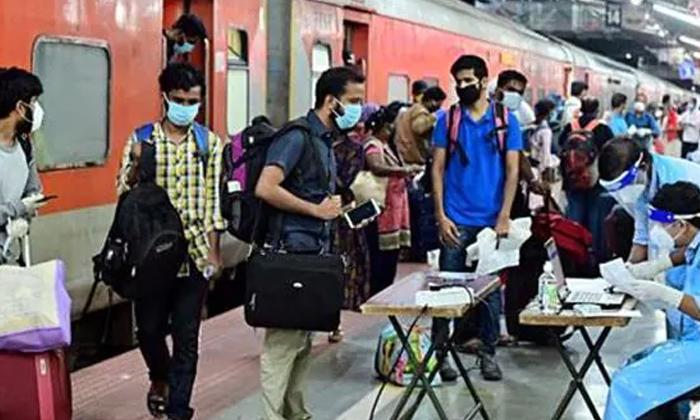 Delhi And Telangana States Travelling Passengers Fourteen Days Quarantine-TeluguStop.com