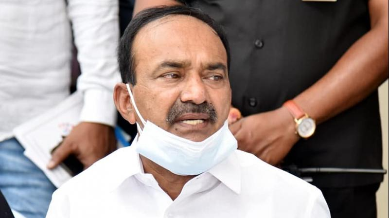Eatala Rajendar Follower Giving Warning To Trs Leaders-TeluguStop.com